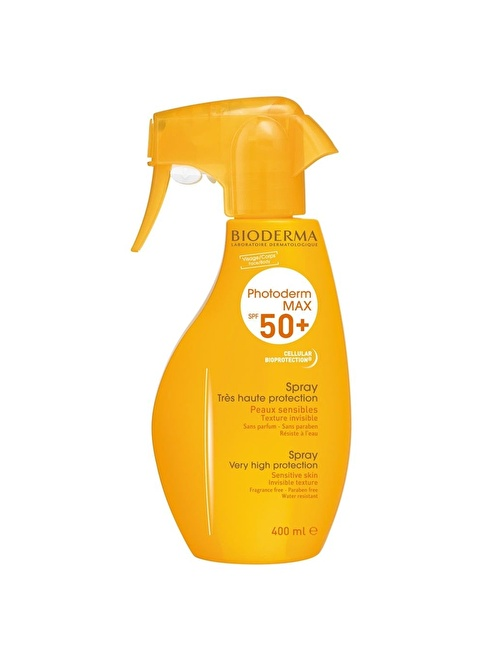 Bioderma PHOTODERM MAX SPF + 50 SPRAY 400 ML Renksiz